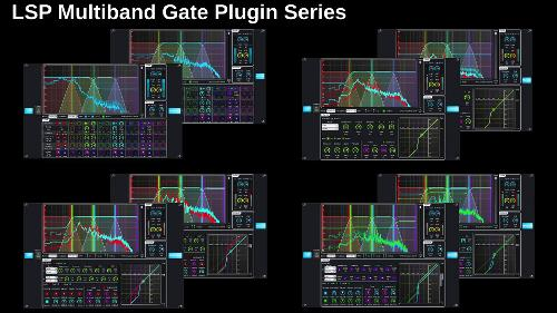 Выпущены аудиоэффекты LSP Plugins 1.1.22