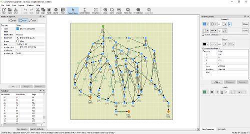 Очередной релиз QVGE 0.5.5 (визуальный редактор графов)