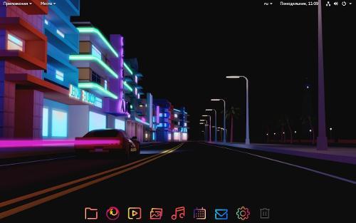 Debian 9+GNOME