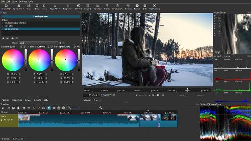 Новая версия видеоредактора Shotcut 20.06.28