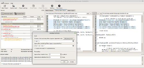 DuploQ - графический фронтенд для Duplo (детектор дублированного кода)