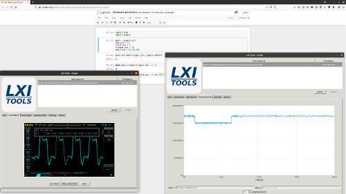 Измерения с осциллографа в линуксе