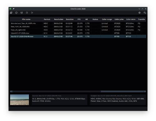Релиз видеоконвертера Cine Encoder версия 3.0