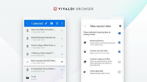 Стабильный релиз браузера Vivaldi 3.5 для Android