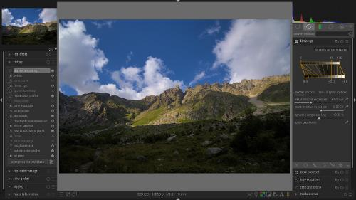 darktable 3.4