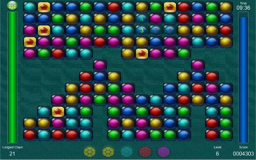 Bubble Chains re-released (retro puzzle-arcade game)