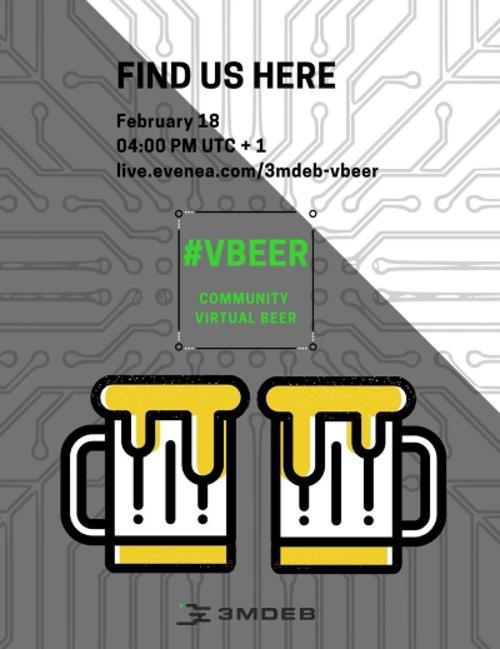 «виртПиво» онлайн вечеринка - завтра в 6 вечера по Москве!