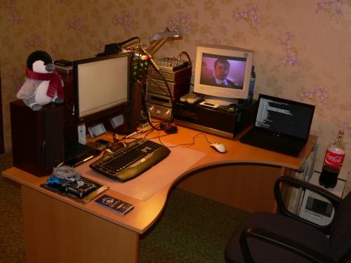 В новую квартиру с новым рабочим столом