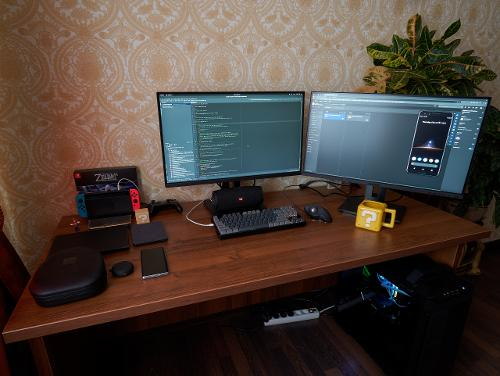10 лет на Linux, 8 лет как Java программист.