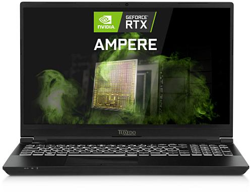 Linux-ноутбук Tuxedo Book XP15 доступен в варианте с GeForce RTX 30XX