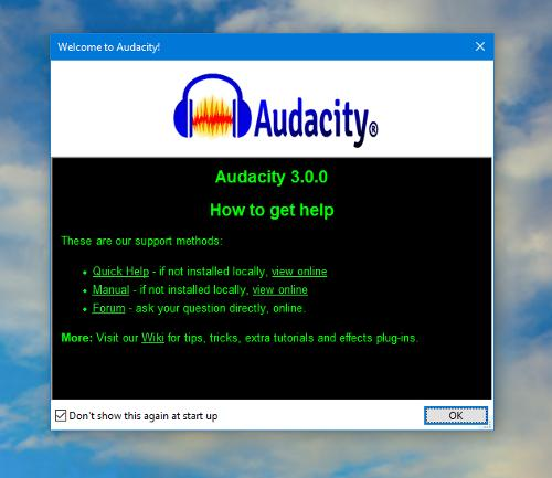 Релиз звукового редактора Audacity 3.0.0