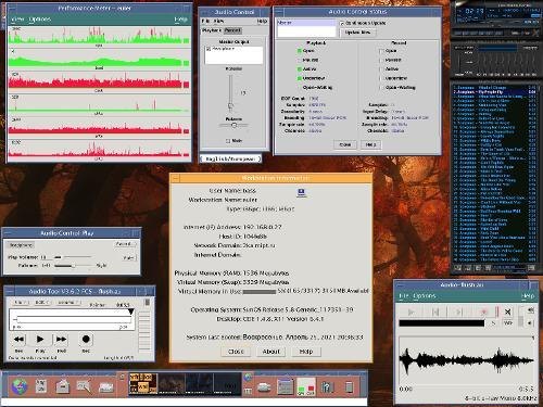 Solaris 8/x86 и настроенный звук