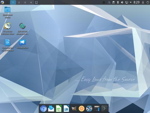 Встречайте Calculate Linux 21