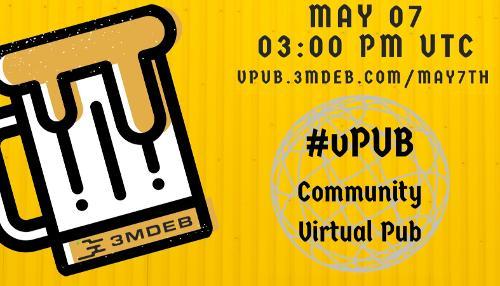 «виртПиво v2» онлайн вечеринка— 7 мая в 6 вечера по Москве!