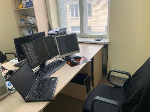 Офис переехал, обустраиваю рабочее место и обновляю Fedora на рабочем ПК