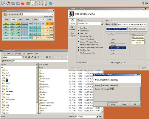 FOX Desktop (Ловите наркомана!)