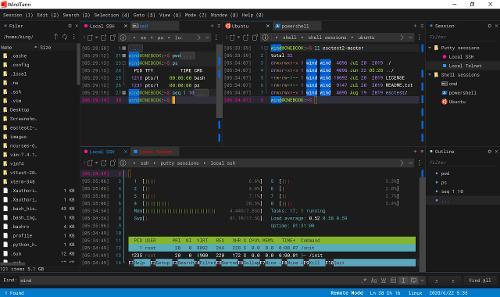 Кроссплатформенный терминальный клиент WindTerm 2.1