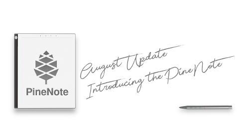 PineNote (электронная книга на базе Rockchip)