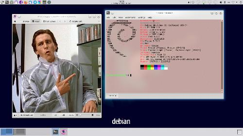 Friendship ended with Arch. Now Debian is my best friend.
