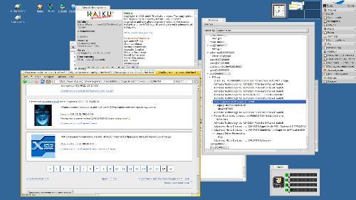 Haiku на RISC-V плате HiFive Unmatched и ЛОРом в NetSurf