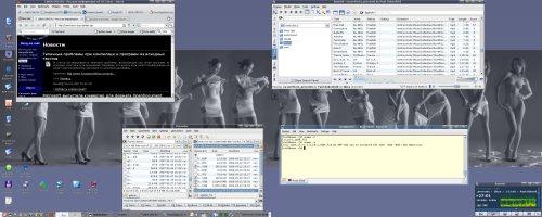 Простенький KDE без наворотов