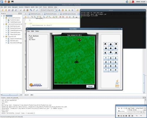 Разработка J2ME-игры в слаке