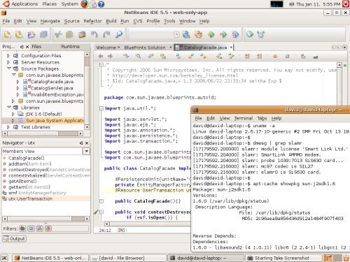 Java разработка на Ubuntu