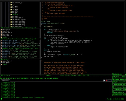 twm+emacs - все почти по-дефолту