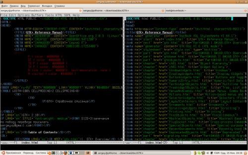 Перевод справочного описания API GTK+ 2.10