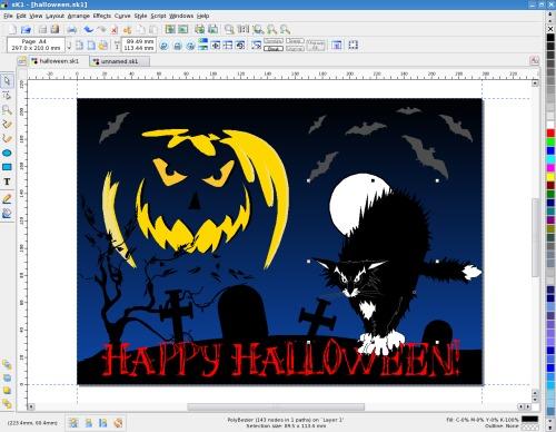 Halloween + табы + CMYK