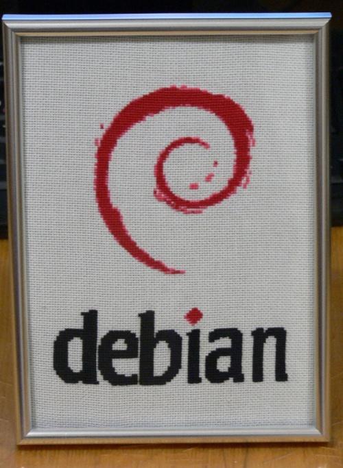 Debian на столе