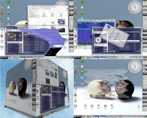 3D-менеджер окон Beryl