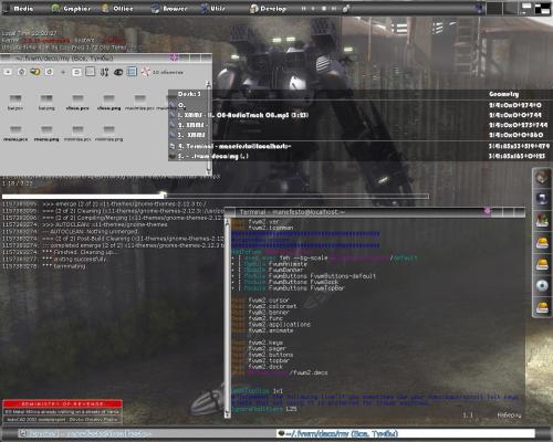 The FVWM Desktop
