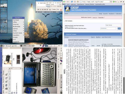 Zaurus C1000 на pdaXrom 1.1.0beta3