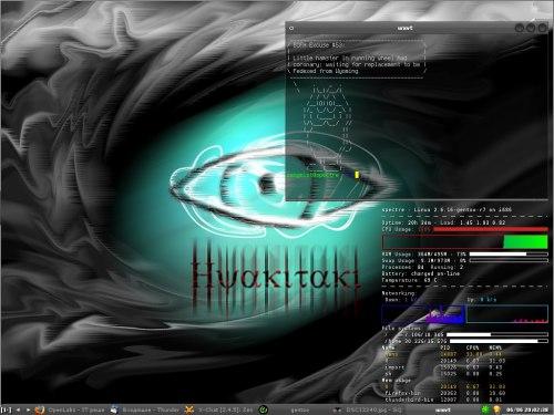 Gentoo+Fluxbox