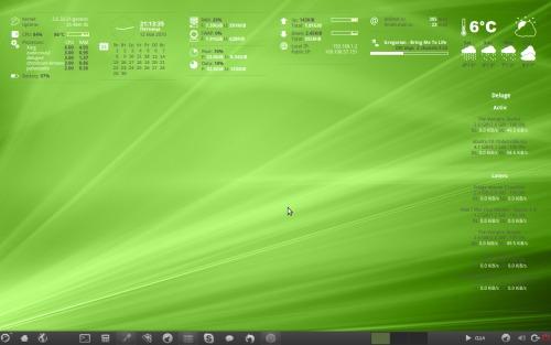 Linux Desktop by me