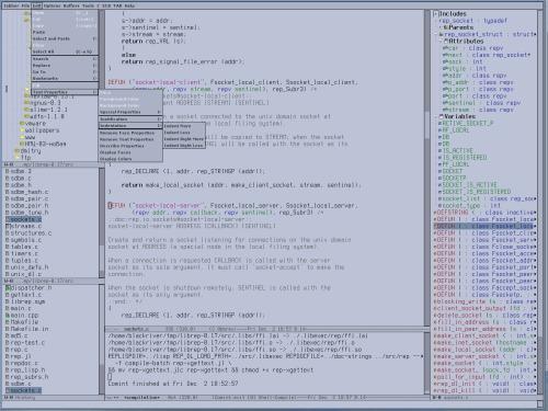 Продолжая тему Emacs :]