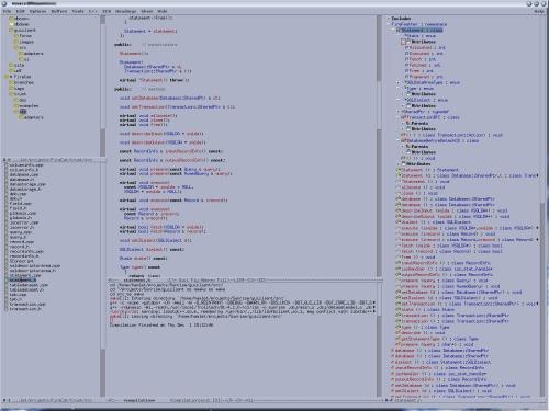 Emacs с «мертвым» OpenMotif'ом и ECB