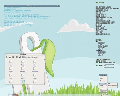 openbox+pypanel