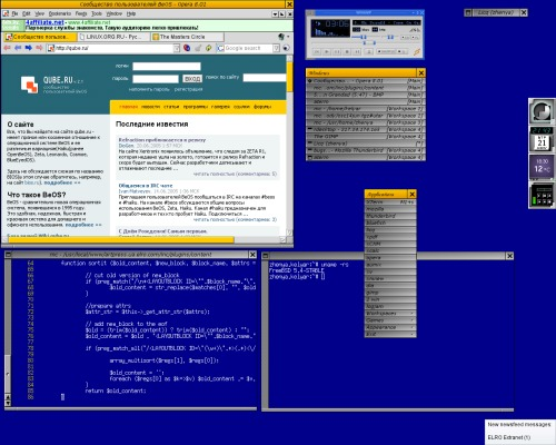 another tribute to BeOS =)