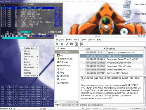 Slackware 10.1 + latest Fluxbox