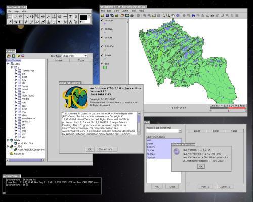 GIS и Linux