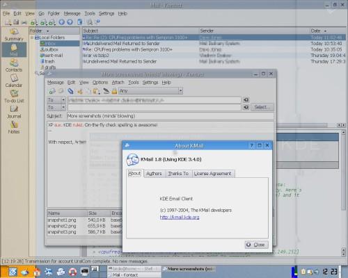 KDE 3.4 rc + X.org 6.8.2