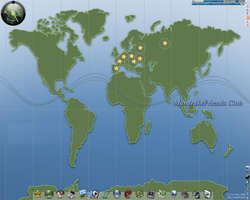 MandrakeFriends Club Desktop