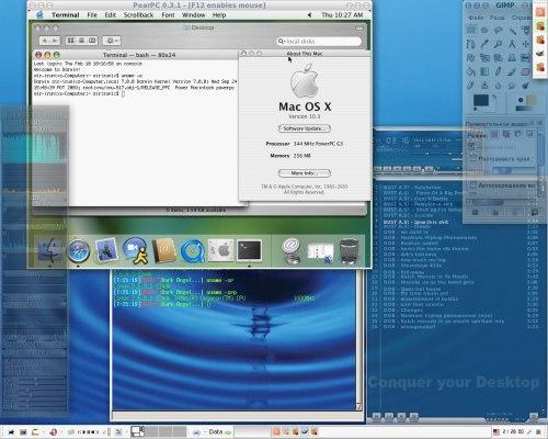 XFce 4.2.0 + MacOSX 10.3.4