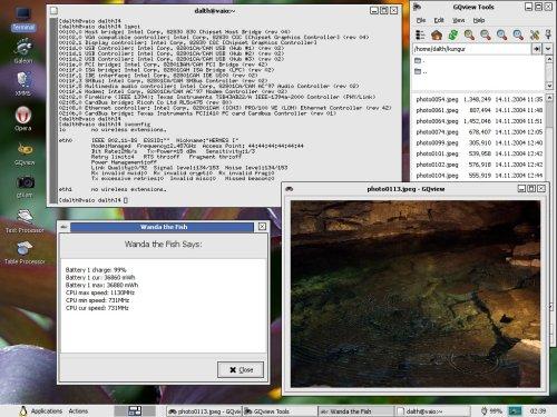 Linux на Sony VAIO