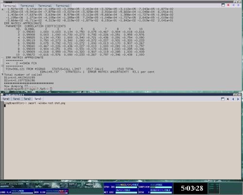 MRXVT— multi-tab X terminal emulator