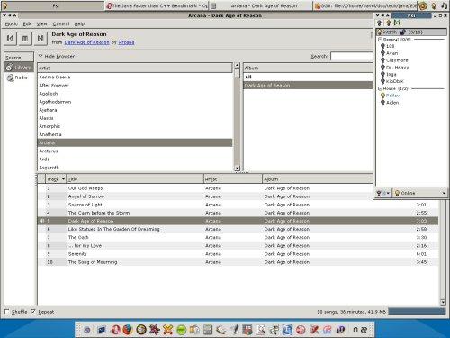 Неброский десктоп на XFce