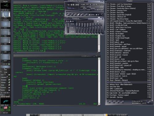 Здесь рулит FluxBox 0.9.9