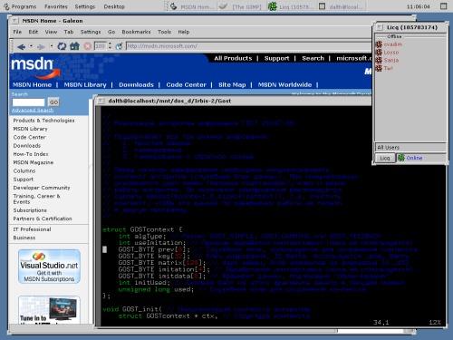 OpenLook? GNOME? Solaris? Linux?